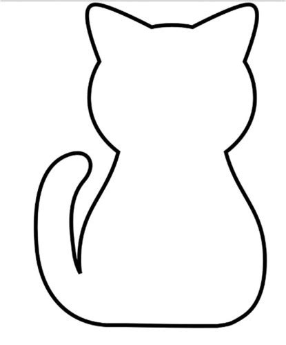 Splat The Cat Template by Chat Alors Les Petits Bout 2 Fee