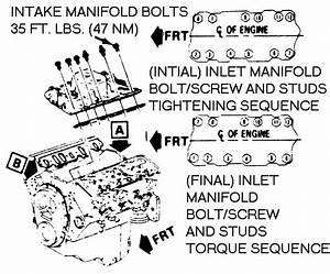Cadillac Intake Torque Spec