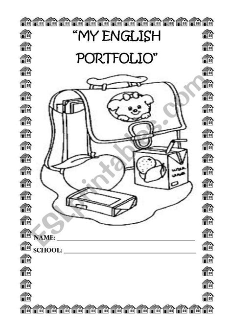 english portfolio  esl worksheet  jecmpj