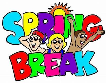 Break Spring Clipart Elementary Clip Transparent Vacation