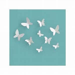 Papillon Décoration Murale : d coration murale papillons papillons smariposa la d co qui donne des ailes ~ Teatrodelosmanantiales.com Idées de Décoration