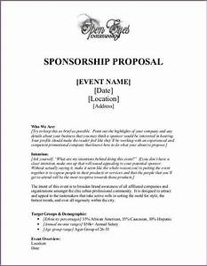 event proposal letter sample proposalsamplelettercom With writing a sponsorship letter for an event
