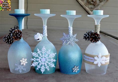12 DIY Wine Glass Christmas Decorations   The Bright Ideas Blog