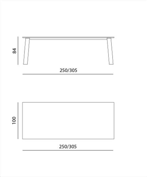 mobilier table hauteur standard table 224 manger