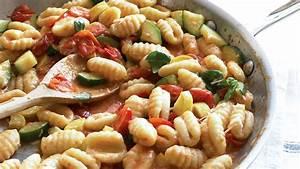 Gnocchi with Summer Vegetables