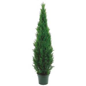 6 foot artificial outdoor cedar tree potted 6ftced artificial plants and trees