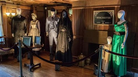 Winchester Mystery House: Film Costume Display - NBC Bay Area