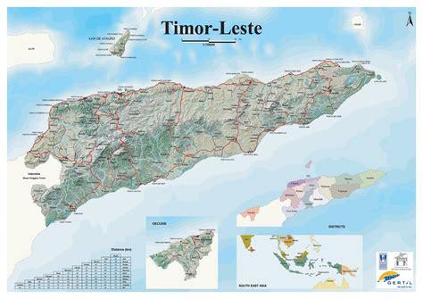 map  east timor