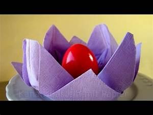 Osterdeko Selber Machen Anleitung : servietten falten osternest basteln osterdeko selber machen osterbasteln ostern 2019 ~ Orissabook.com Haus und Dekorationen