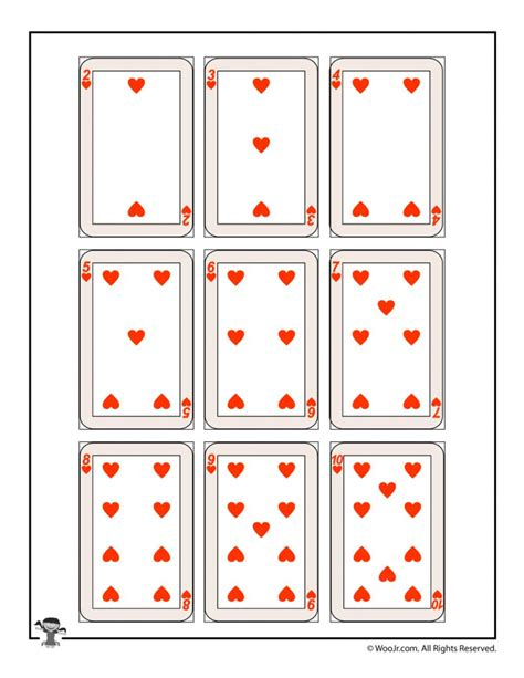 Printable Deck Of Cards Printable Card Free