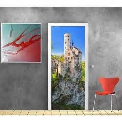 papier peint porte chateau fort 836 dimensions 93x204cm