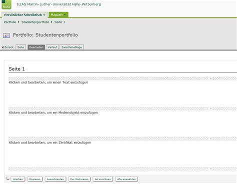 Lerntagebuch einer sprachschule, die deutschkurse für erwachsene anbietet und den lernenden zur unterstützung das führen eines lerntagebuchs anbietet. Portfolio-Vorlage in ILIAS 4.4 - @LLZ