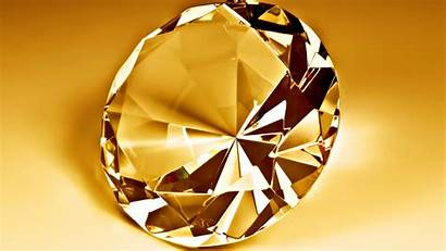 Diamond Gold 3d Backgrounds Wallpapers Desktop Mobile