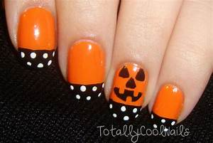 Totally Cool Nails - Simple Halloween...