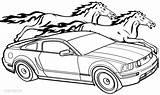 Coloring Ford Pages Bronco Mustang Printable Getcolorings Getdrawings Print Pag sketch template