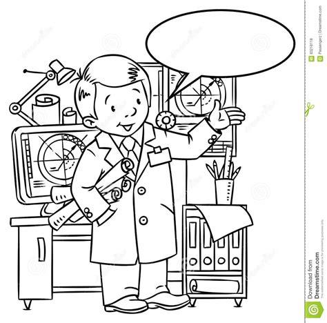 engineer coloring book profession abc series cartoon