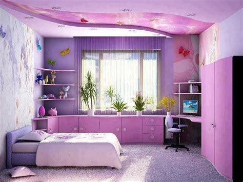 15+ Awesome Purple Girls Bedroom Designs