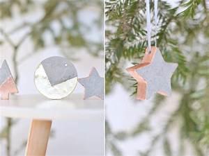 Beton Schleifen Schleifpapier : do it yourself christbaumschmuck aus beton bonny und kleid ~ Watch28wear.com Haus und Dekorationen