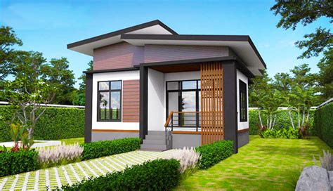elevated modern single storey house pinoy house plans