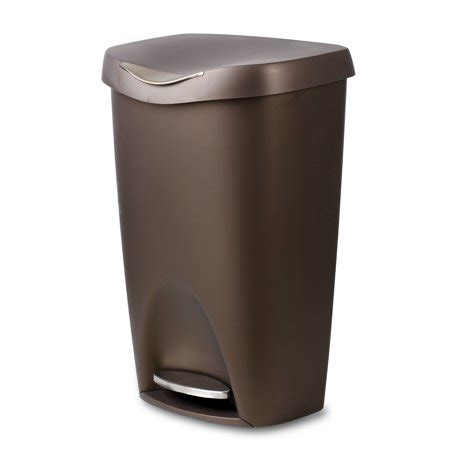 umbra brim  gallon trash   lid large durable