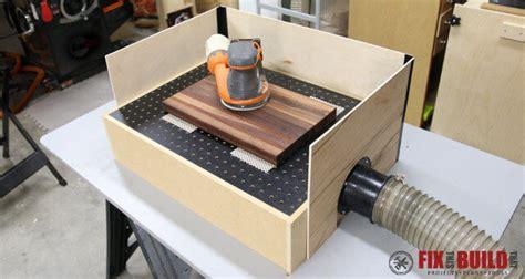 build  diy downdraft table fixthisbuildthat