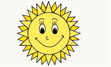 How To Draw A Cartoon Sun