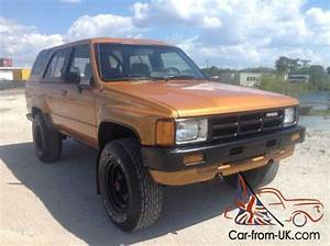 1985 Toyota 4runner Sr5 4x4 5 Speed Manual Transmission