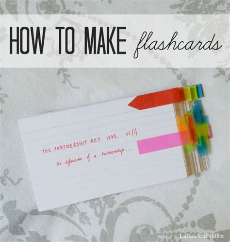 Great Blog With Creative Ideas For Using Flashcards To Study  College Studies Pinterest