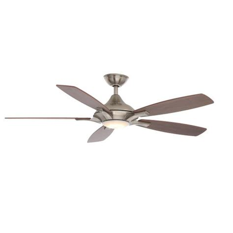 petersford 52 in led brushed nickel ceiling fan 466 best images about for the home on pinterest mini