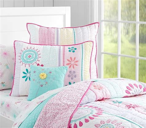 Boat House Quilt Set by Maya Dandelion Quilted Bedding Pottery Barn Kids