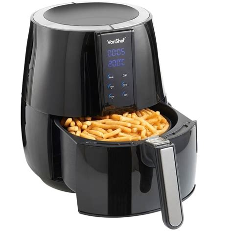 air fryers fryer vonshef open digital drawer buyers guide into well