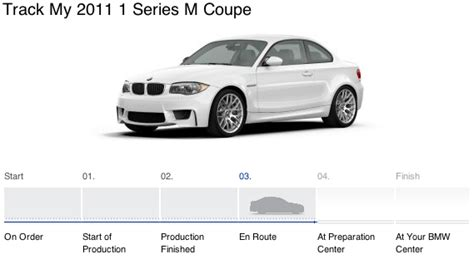 Track Your Bmw by Tracking Your Bmw From Order To Delivery Bimmerfile