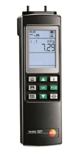 No Stress Testo by Testo 521 2 Differential Manometer 0 100 Hpa 0 1 Acc Y