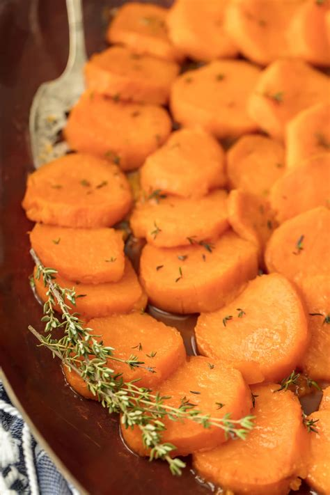 sweet potato recipes simple easy candied sweet potatoes the cookie rookie