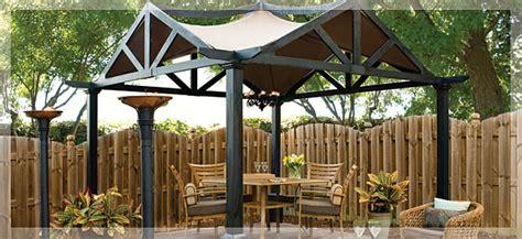 outdoor living backyard luxury gazebos by lowe s
