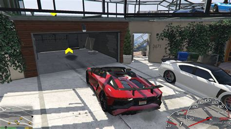 Franklin Garage Roof [map Editor  Spg] Gta5modscom