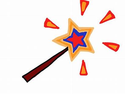 Wand Magic Clipart Wands Library Cliparts Star