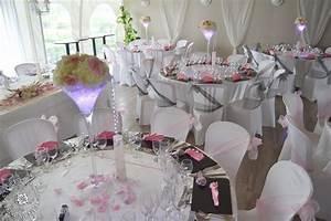 Deco Table Rose Et Gris : mariage en rose tendre et gris assiette la vall e de l ~ Melissatoandfro.com Idées de Décoration
