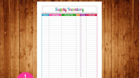 inventory tracking template   word excel