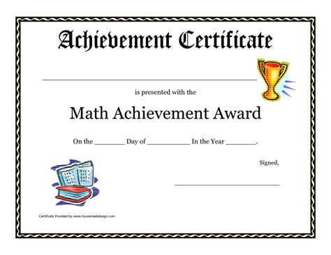 Free Award Certificate Templates For Students by Printable Student Awards Certificate Templates