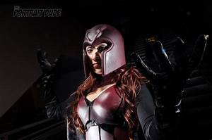 BrittNasty Does Female Magneto Cosplay Extremely Well