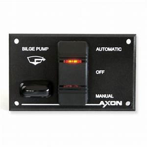 Automatic Water-resistant Bilge Pump Switch    Fuse Panel
