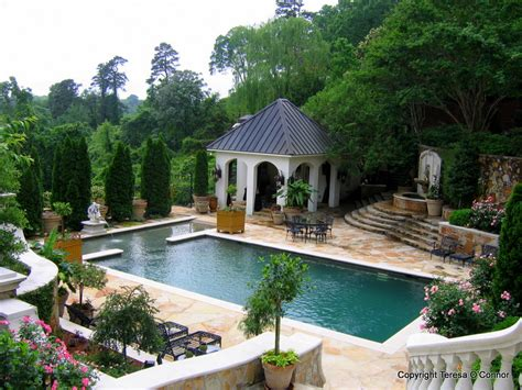 Garden Pool : Southern Plantations To French Estates
