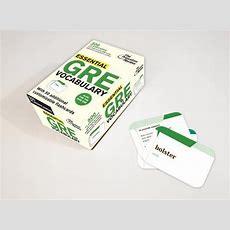 Essential Gre Vocabulary (flashcards)  Buy Essential Gre Vocabulary (flashcards) By Review