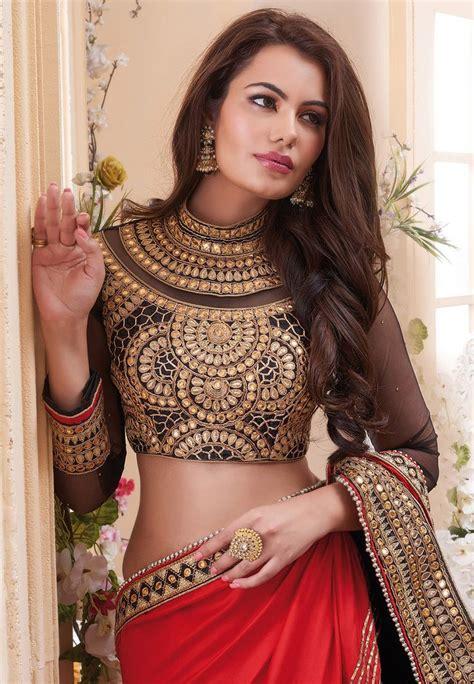 saree blouse designs images  pinterest