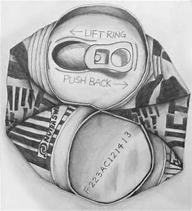 Crushed Can Drawing. Link to lesson: http://www.bcsc.k12 ...