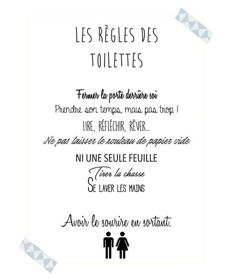 foto de Texte Humoristique Pour Laisser Les Toilettes Propres
