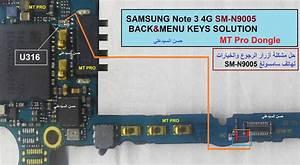 Samsung N9005 Back U0026menu Solution