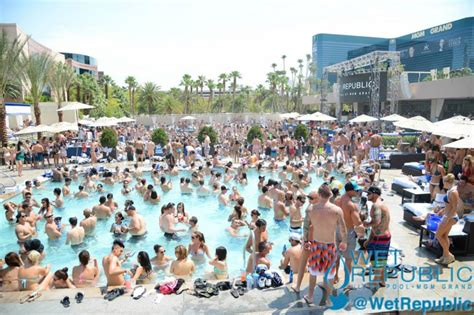 wet republic mgm grand event calendar electronic vegas