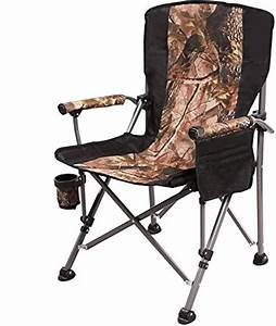 Redcamp, Camping, Chairs, For, Adults, Heavy, Duty, Sturdy, Steel, Folding, Lawn, Chair, With, Padded, Hard